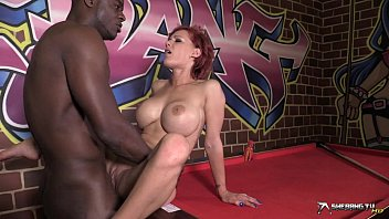 Super hot interracial doggy fucking