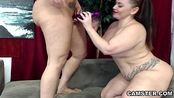 Hispanic lesbian pussy - Two lesbians with big ass tits equal double trouble