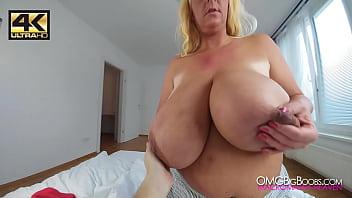 POV grabbing Emilia Boshe'_s natural tits [4K]