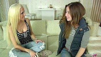 Tight lesbians German teen - 18 jahre junges teeny das erste mal lesben sex bei casting