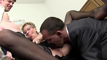 Free version - Mom wants cock and immediately takes the cock of her son and cousin to draft thumbnail