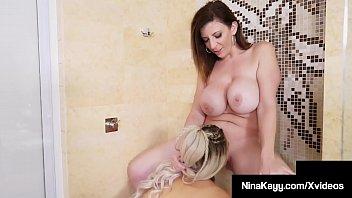 Wet Wild Women! Nina Kayy Finger Bangs & Cums With Sara Jay!