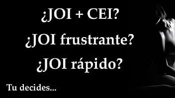 Audio Español. JOI   CEI, Frustración o Rapidez, Juego Para Masturbarse.