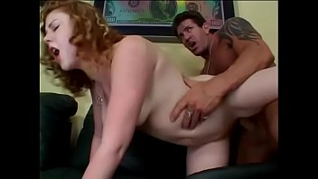 Nice curly haired redhead Cherry Poppens gets her hairy cunt fucked by big dick pornhub video