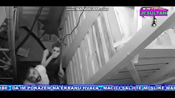 Women fucking security camera - Hidden camera on reality show zadruga