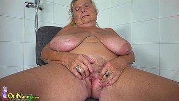 Images - OldNanny Two hot lesbian licking and masturbating