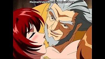 Sexy cartoon videos - Hot anime redhead enjoys sex toy