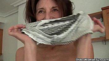 Kokos bikini bar Euro gilf koko lowers her jeans and rubs her pussy