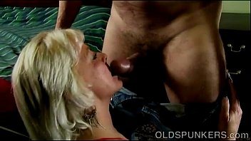 Super cute sexy old spunker loves it when you cum in her mouth preview image