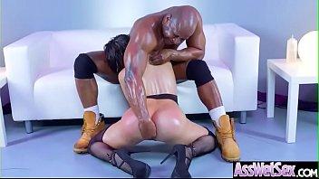 Hard Analy Banged On Cam A Sluty Big Round Ass Girl (Aleksa Nicole) video-03
