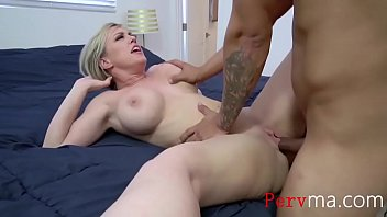Yoga mom stretchs her pussy for SON- Dee Williams