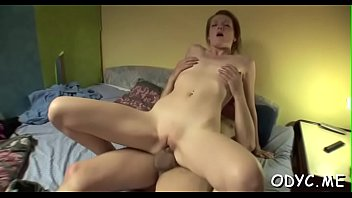 Playsome redhead Maggies gets licked and gives head
