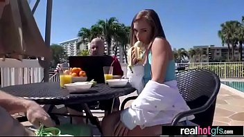 Gorgeous GF (sydney cole) In Hard Sex Scene On Camera vid-28