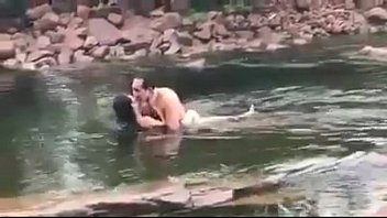 Babe nude thai Khmer star at river