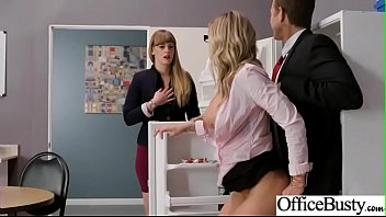 (Jessa Rhodes) Busty Office Girl In Hard Style Sex Action clip-11