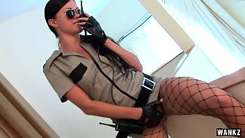 WANKZ- Super Hot Cop Bitch Masturbates