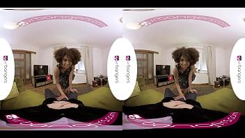 VR PORN Hot Ebony Student Gets Fucked
