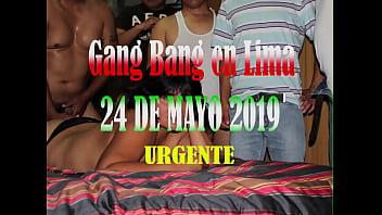 Invitacion Gang Bang 24 mayo 2019