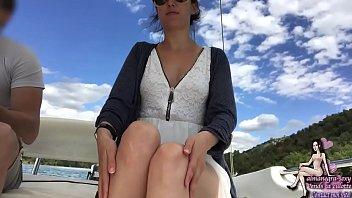 Exhib sur un bateau - Almanegra de vends-ta-culotte.com