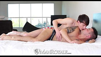 Man fucking twinks Hd manroyale - cute guy has his ass washed and fucked by his twink bf