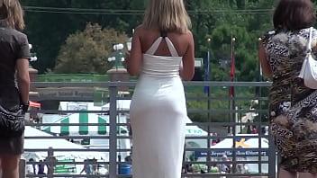 Vestido Branco  Muito Sexi