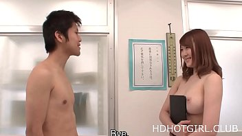 Nude japanese classroom