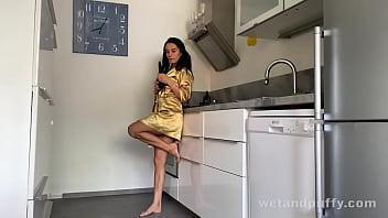 Lexi Dona Fucks Kitchen Utensils