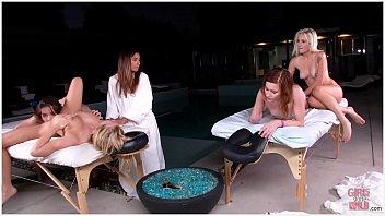 GIRLS GONE WILD - Sorority Pussy Massage With Alaina Dawson and Bailey Brooke