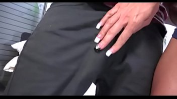 Jewels Jade fucking bg black dick in front of her son