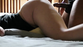 Getting fucked by my hubby to an orgasm (assman4ever.com)...
