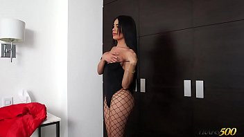 Valeria Danae Has Her Ample Shemale Ass Plowed thumbnail