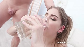 Fucking Wet Beer Festival with Julia Red, 4on1 Balls Deep Anal, DAP, Farts, Pee Drink and Swallow GIO1353