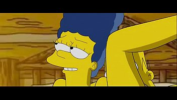 Marge simpson cleaning naked Simpsons-sex-video