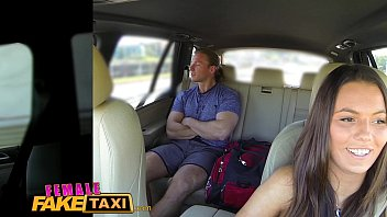 Online adult driver training - Female fake taxi businessman strikes sexual deal with horny driver