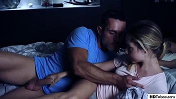 Daddy Fucks Sexy Family Friend Mona Blue