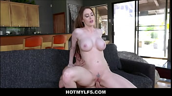 Big Tits MILF Step Mom Fucked By Step Son After Massage