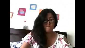 Sofia mistral estrada haciendose deditos en la webcam