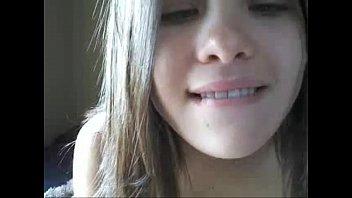 Brunette Elisabeth Fingering For Friend On Webcam - livesologirls.com video