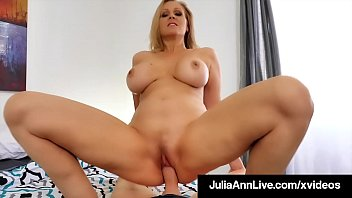 Mother penis Horny mommy julia ann rides milks her step sons cock