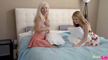 Teens Step Sisters Seducing Step Brother