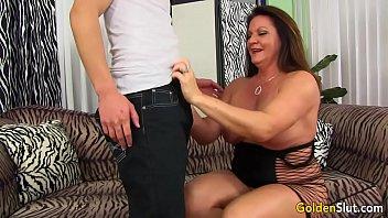 Grandma Leylani seduces boy thumbnail