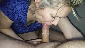 Mature amatuer homemade tube - Hanysy hot 43 year old milf is doing a blow job cum in mouth
