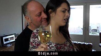 Hot italian girls fucking - Hot brunette teen and old italian guy femdom playing