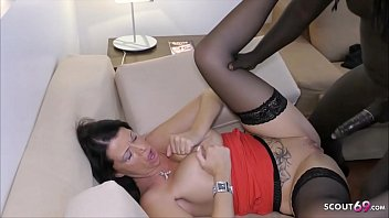 RICH GERMAN WIFE DACADA CHEAT HUSBAND WITH BLACK CALLBOY