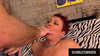 Redhead Mature Scarlett O Ryan Twerks Her Big Ass While Riding an Old Dick