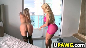 Abbey Brooks and Nikki Delano battle of the ass