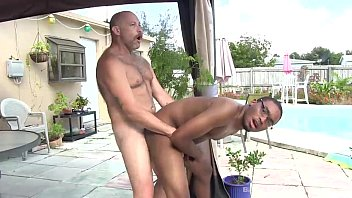 Gay flag black blue black - Infatuated with raw daddy cock