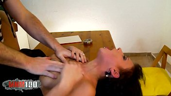 Sexy lawyer fucked in the ass by horny prisoner