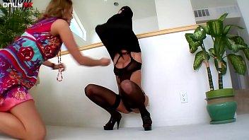 Blonde big tits lesbians enjoying their sex toys thumbnail
