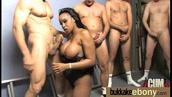 Interracial Group Sex! HUGE TITS 18